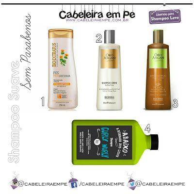 Low Poo Sem Parabenos Shampoo Xampu Progressiva Bio Extratus
