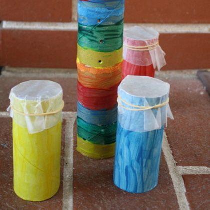 Drums Craft For Preschool