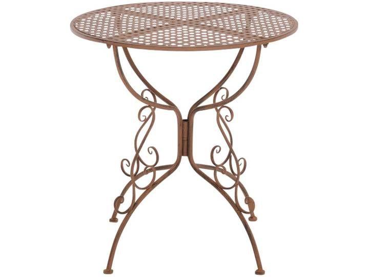 Gartentisch Cp320 Metalltisch Antik Braun Home Decor Decor
