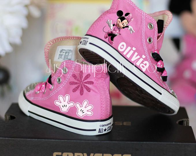 e40472925a79 Minnie Mouse Bling Shoes