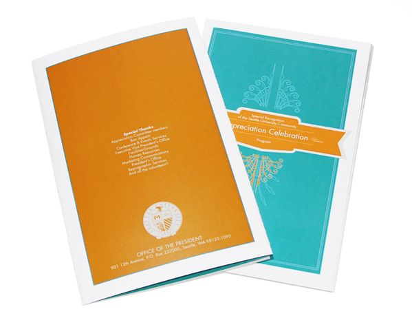 Event collateral design for Asia-Pacific Oncology Conference - Event Program