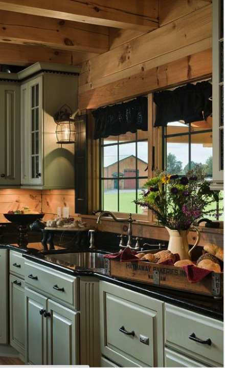 How To Light A Country Style Kitchen