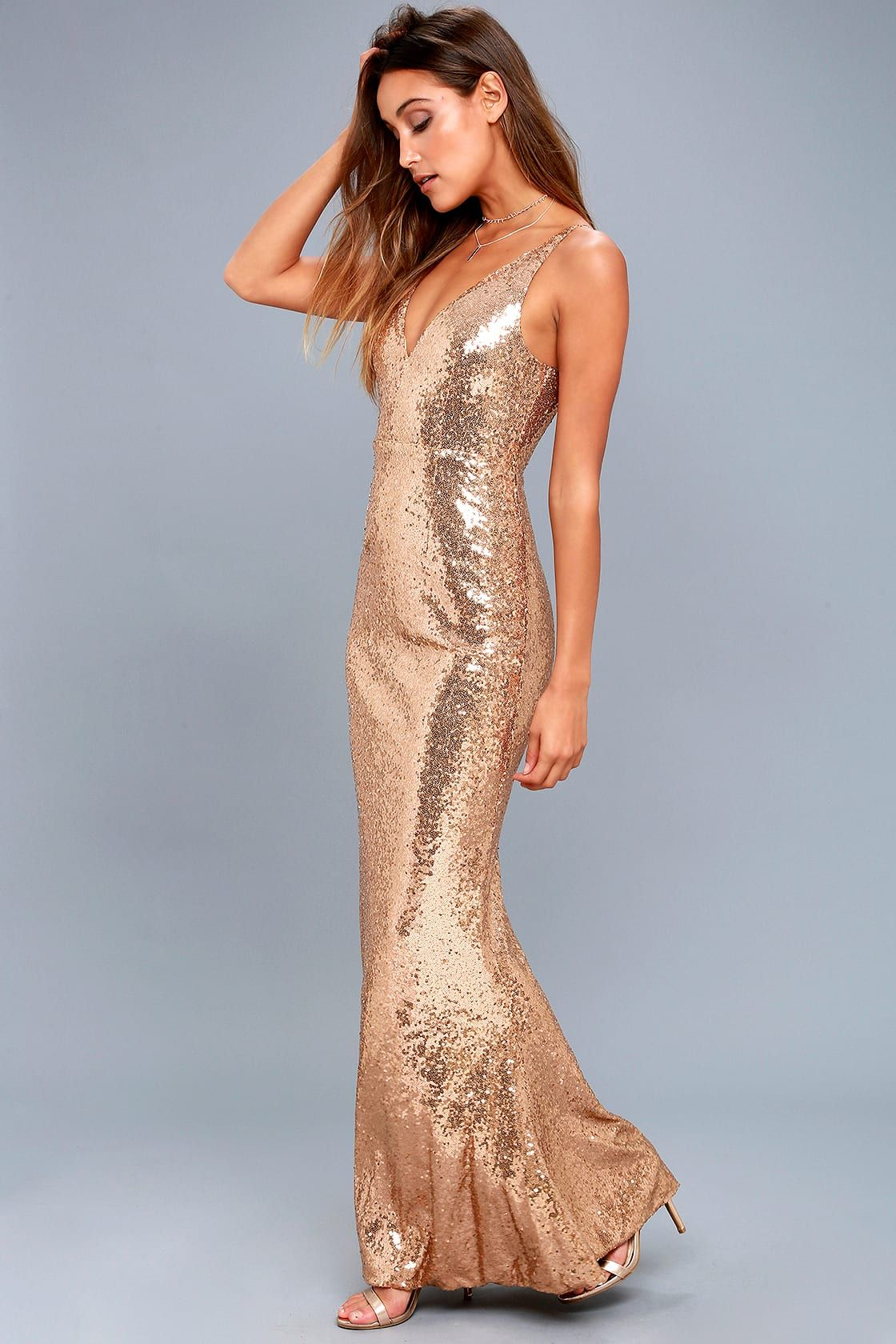 Here To Wow Gold Sequin Maxi Dress Gold Sequin Dress Sequin Maxi Dress Blue Sequin Dress [ 1680 x 1120 Pixel ]