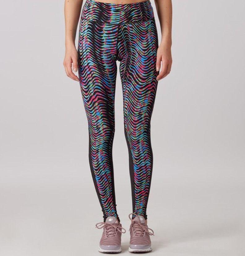 f512bf01094555 Nike Epic Lux Sidewinder Running Tights Multi Color 719850-901 Sz S $120  NWT #Nike #PantsTightsLeggings