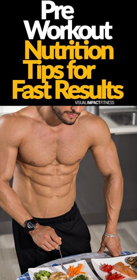 Pre Workout Nutrition Tips For Fast Results