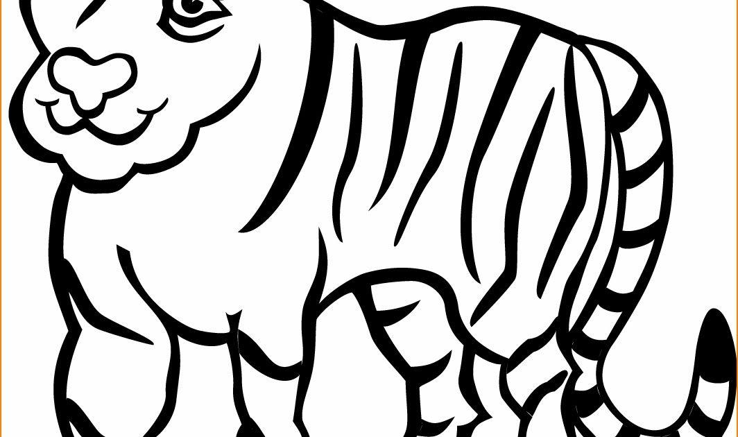 Menakjubkan 30 Gambar Harimau Kartun Mudah Cara Menggambar Mudah Cara Menggambar Step By Step Free Bikinnya Engga Menggambar Harimau Kartun Menggambar Singa