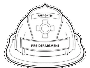 Wearable Fireman Hat Printable Fireman Hat Fire Safety Activities Fireman