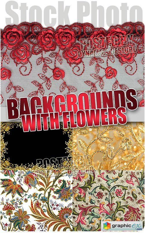 Backgrounds with flowers  UHQ Stock Photo  stock images