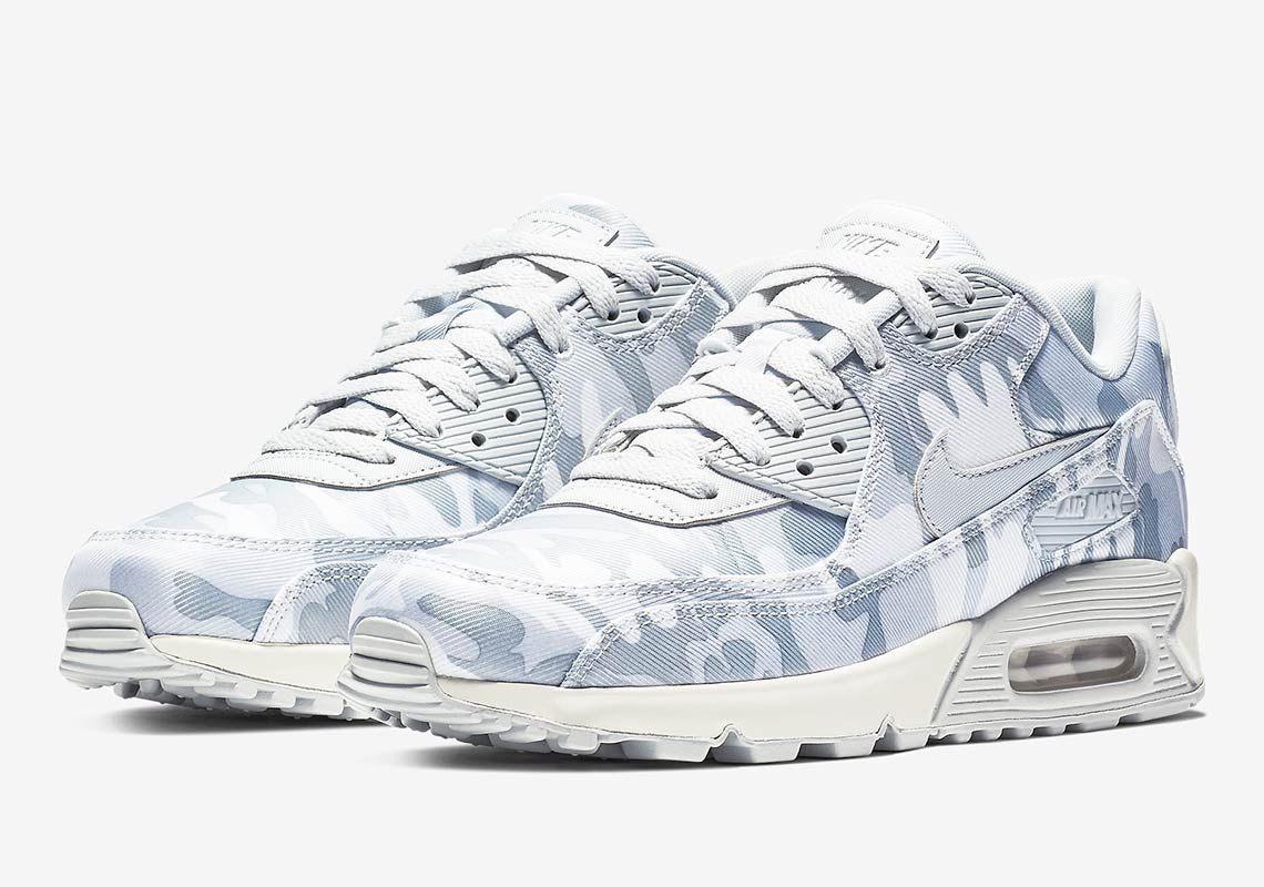 100% authentic a9157 479f8 Nike Air Max 90 Winter Camo AQ9721-001 Store List   SneakerNews.com