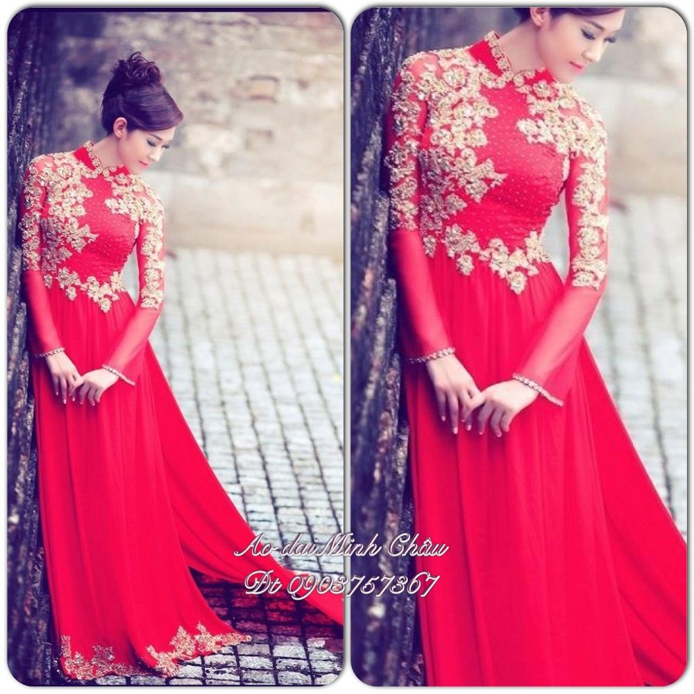 Ao dai cuoi lisa nguyen love cant wait to get one made ao dai wedding ombrellifo Gallery