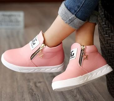 Children Boys Girls Beauty Martin Sneaker Boots Lace Up Kids Baby Casual Shoes