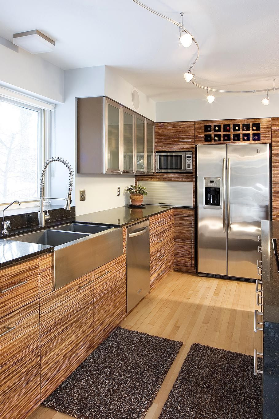 6 Gorgeous Plyboo Bamboo Installs Intectural Bamboo Kitchen Cabinets Kitchen Cabinet Styles Modern Kitchen Cabinets