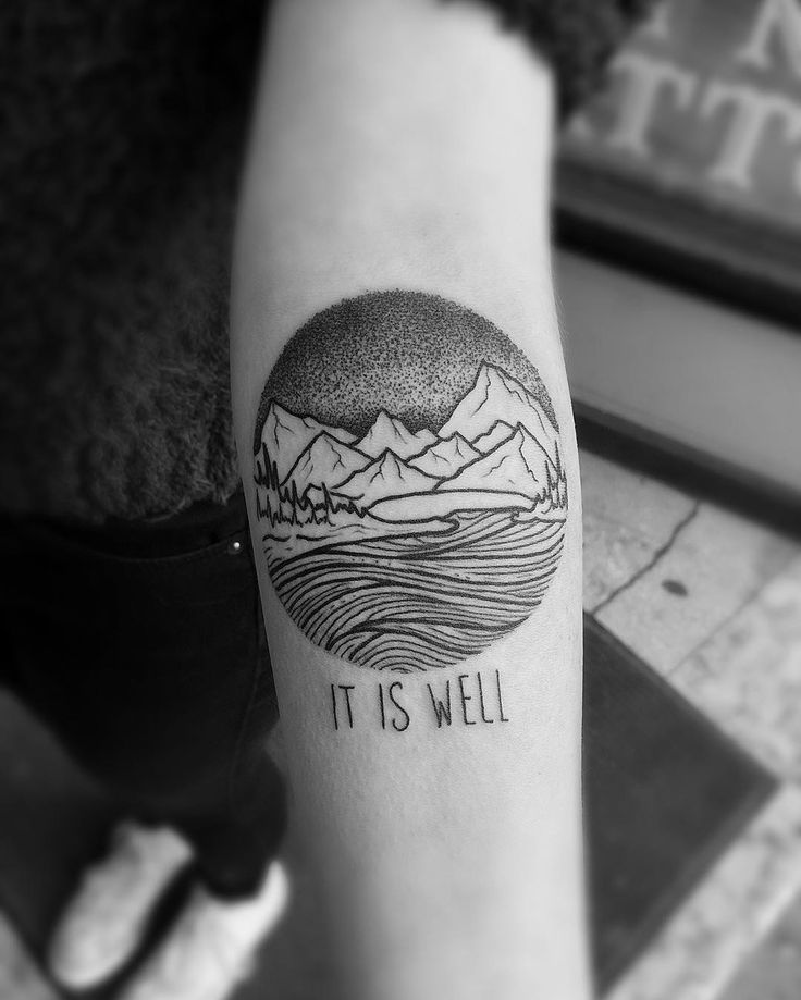 1000+ ideas about Mountain Tattoos on Pinterest | Mountain tattoo ...