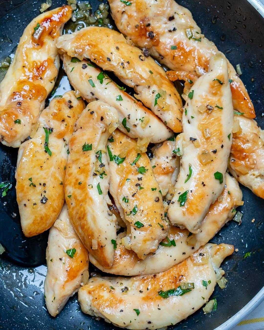Honey Garlic Butter Chicken Tenders for Clean Eating Meal Prep  Honey Garlic Butter Chicken Tenders for Clean Eating Meal Prep
