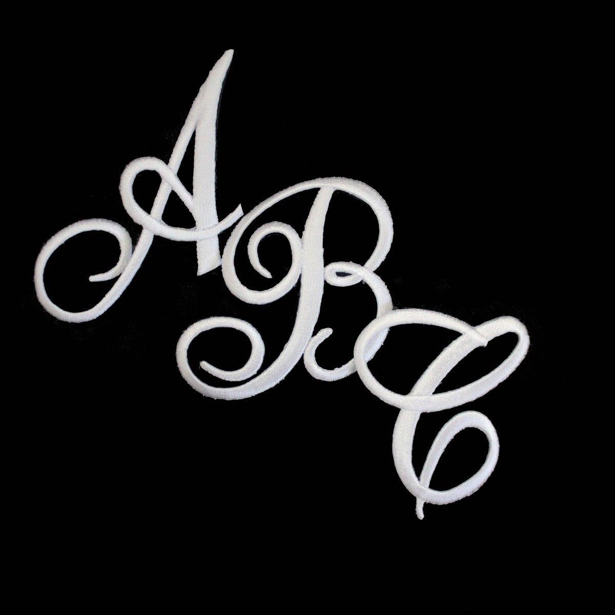 Huge Lot 100s of Vintage Monogram Script Alphabet Letters 2