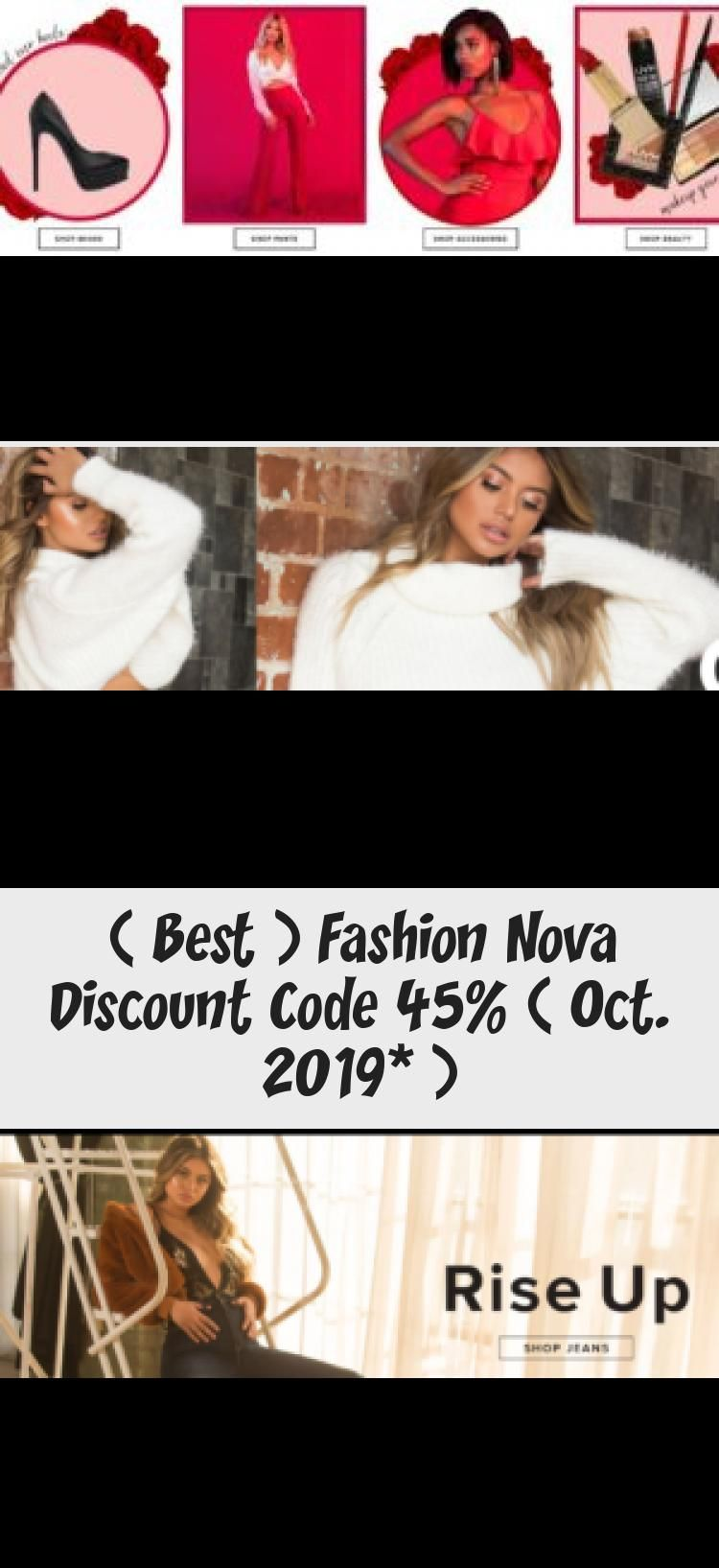 Best Fashion Nova Discount Code 45 Oct 2019 In 2020 Fashion Nova Discount Fashion Nova Fashion Nova Coupon