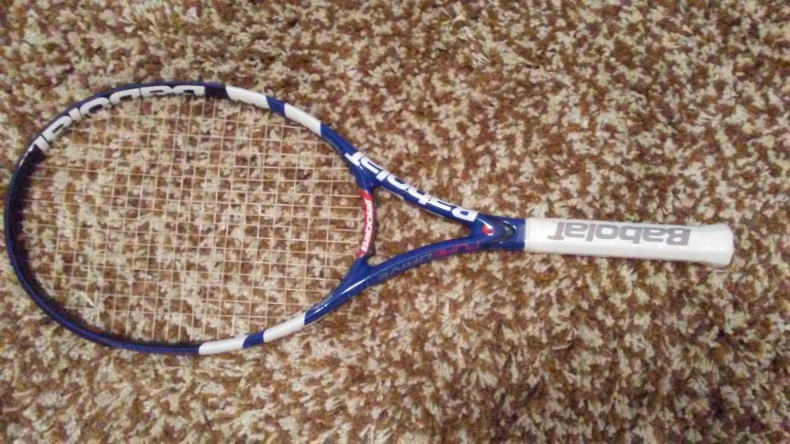 Racquets 20871: New Tennis Racquet Babolat Pure Drive (16X19) 100 Sq In 4 3/8 Grip Size 3 BUY IT NOW ONLY: $99.95