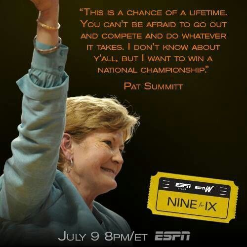 Pat Summitt Quotes: A+ Quotes To Ponder