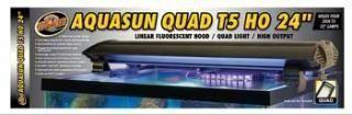 ZooMed AquaSun t5HO Quad Hood 24