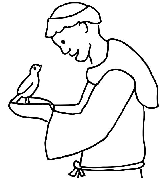 Image Result For St  Francis Coloring Page