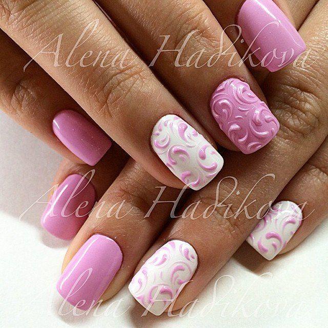 Pin de Galina Ostapenko en Ногти   Pinterest   Diseños de uñas, Arte ...