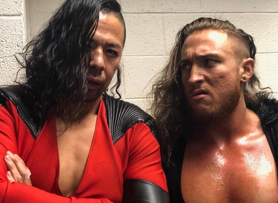 Wer Hat Die Haare Schoner Shinsukenakamura Petedunneyxb Apetedunneyxb Ashinsukenakamura Bruis British Wrestling Professional Wrestling Pro Wrestling