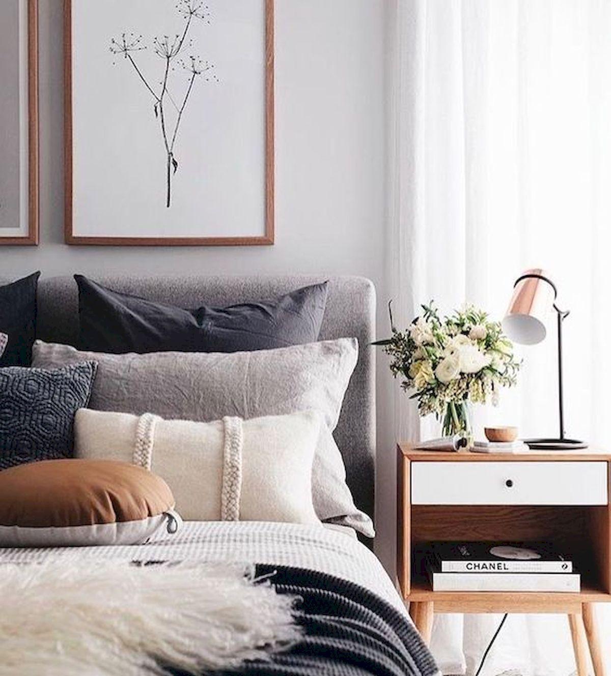 Scandinavian Bedroom Curtains Bedroom Chandeliers Menards Bedroom Athletics Mule Slippers Bedroom Colour Combination: 60 Best Farmhouse Bedroom Furniture Design Ideas And Decor