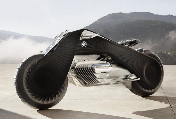 voici la nouvelle moto futuriste que l 39 on doit bmw et qui se conduira sans casque bmw. Black Bedroom Furniture Sets. Home Design Ideas