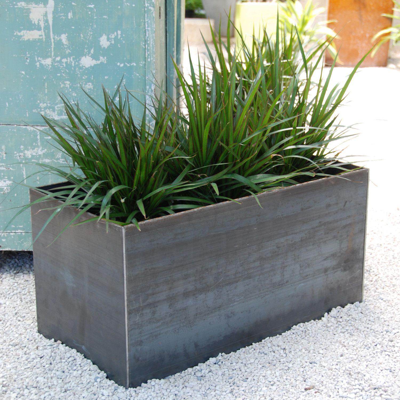 Tatami Planter Rectangular planters, Planters, Metal