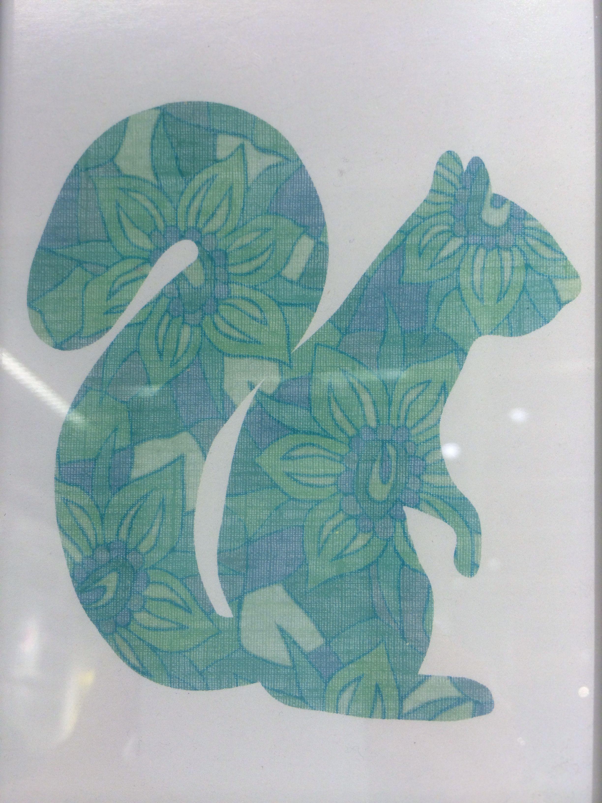 Fabric patterned silhouettes ikea fabric patterns