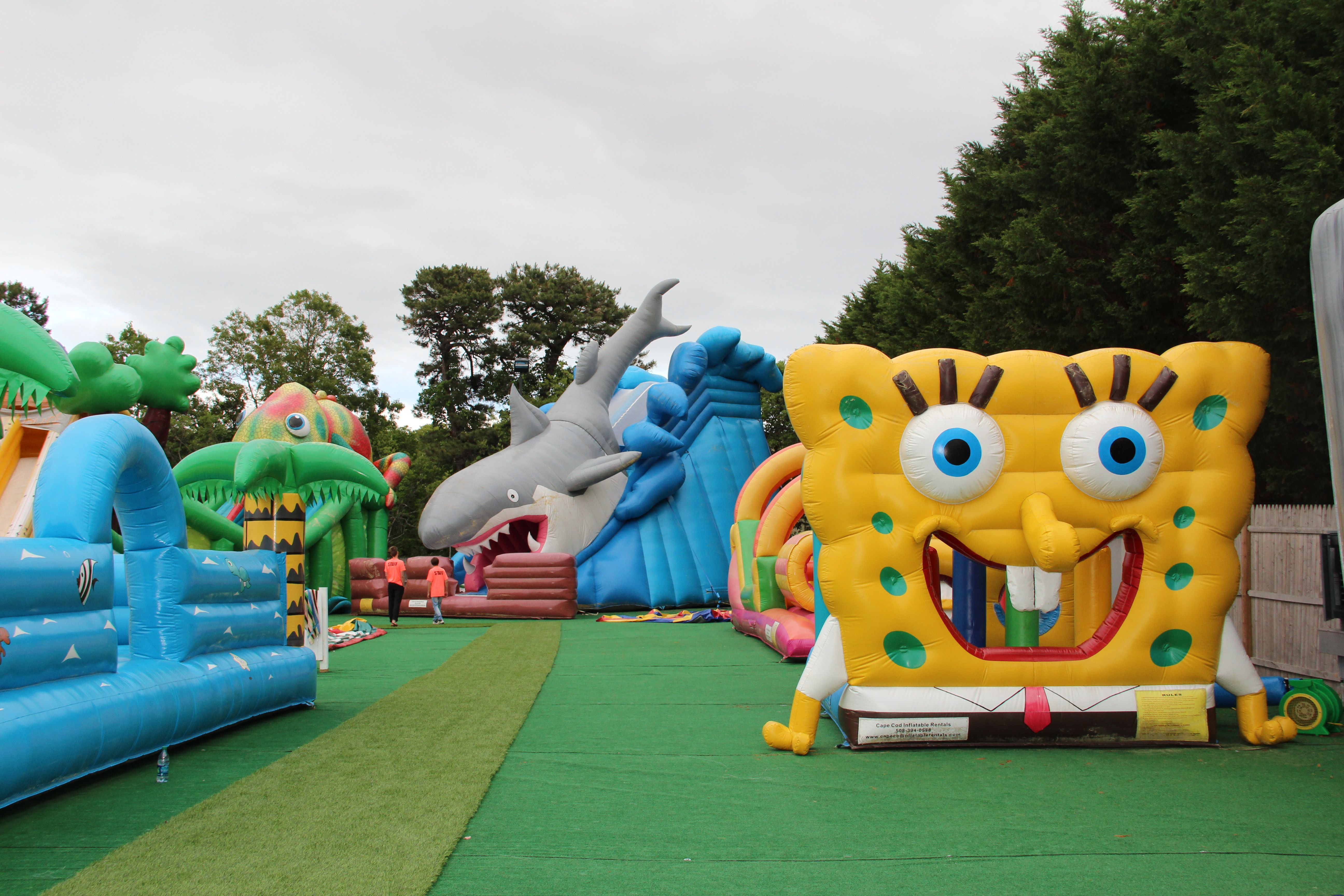 Amazing Cape Cod Inflatable Rentals Part - 5: SO Much Fun At The Cape Cod Inflatable Park. A Must See For The Kids