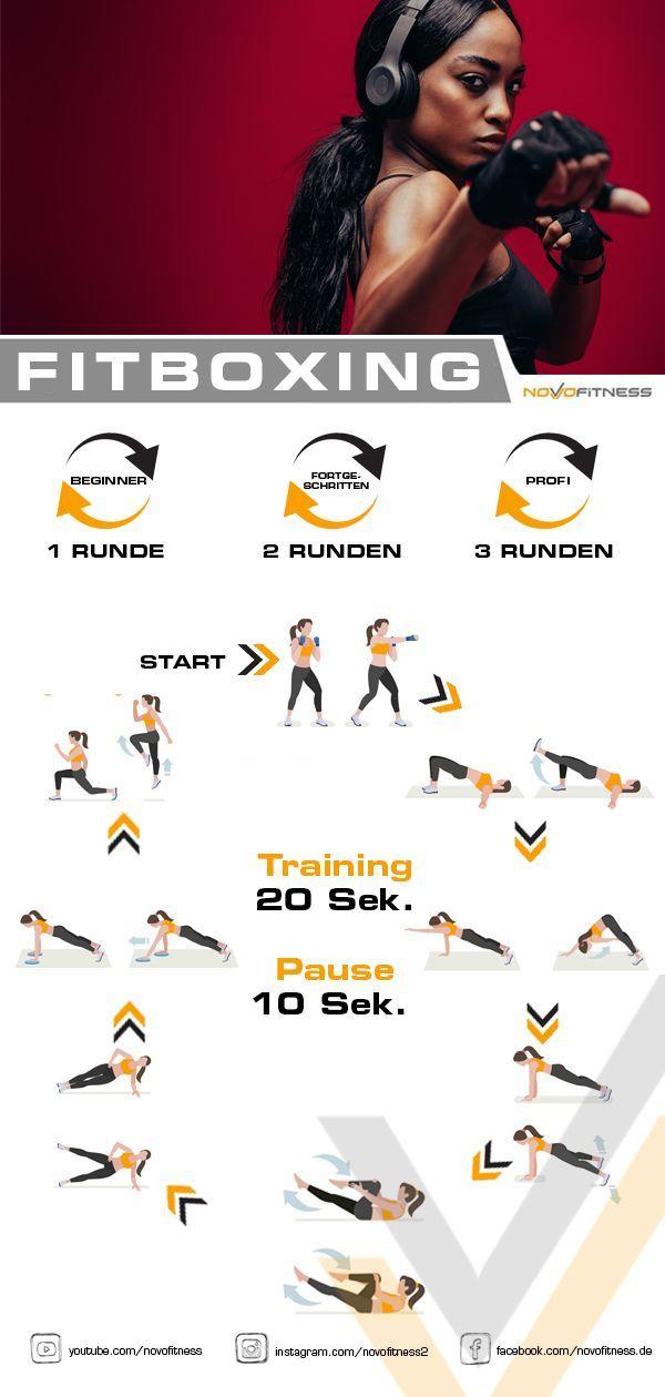 #Boxen #Fitness Fitness Boxen        Klicke aufs Bild und mache ein Fitness Boxing Workout jetzt sof...