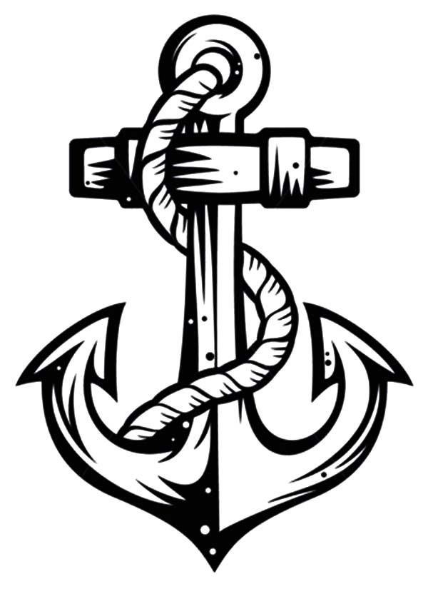 Sketch Of Anchor Coloring Pages Bulk Color Anchor Art Coloring Pages Free Coloring Pages