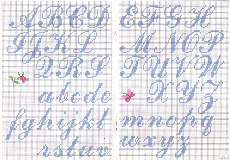 Image Du Blog Lespetitescroixdanaide Centerblog Net Alphabet Point De Croix Point De Croix Abecedaire Point De Croix