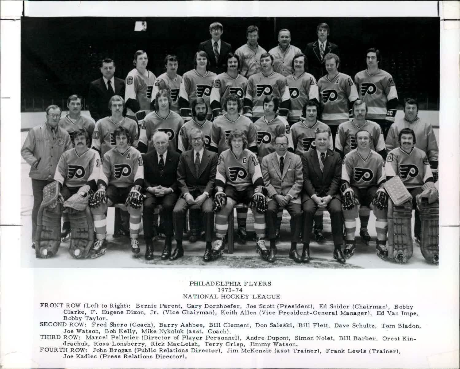 ...and the rest of the Broad Street Bullies By far the