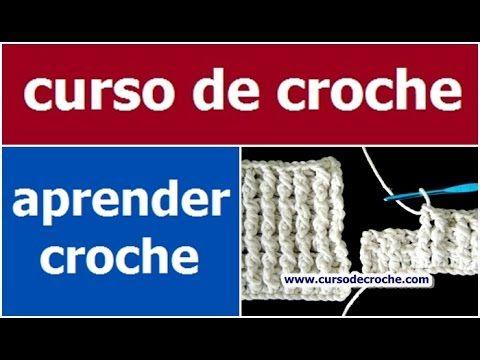 PONTO BARRA - AULA DE CROCHÊ PARA INICIANTES - CUR...