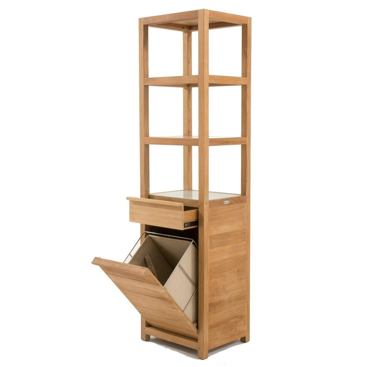 Teak Storage Shelf 31 5 In Teak Outdoor Furniture Teak Bathroom
