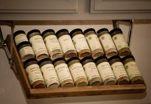 Gentil Under Cabinet Spice Rack That Pull Down   Cabinet : Furniture ... More