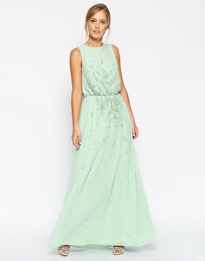 306a1944a274 ASOS+SALON+Embellished+Waist+Scattered+Maxi+Dress