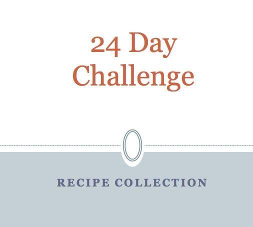 advocare diet recipe book