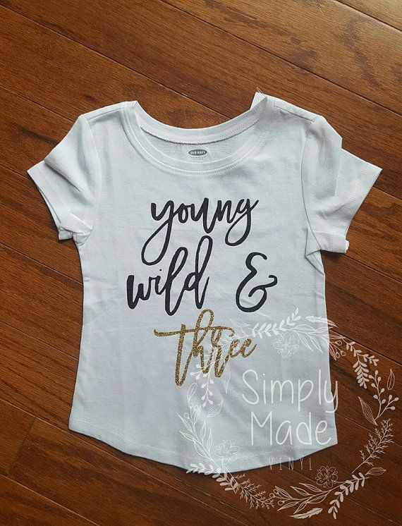 Girls 3 Year Old Birthday Shirt Toddler