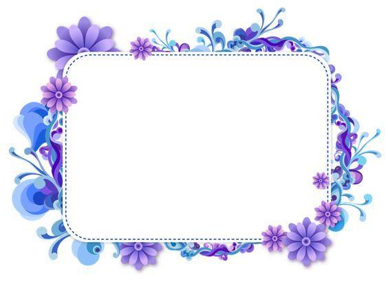 ผลการค้นหารูปภาพสำหรับ Frame Flower Vector Png กรอบ