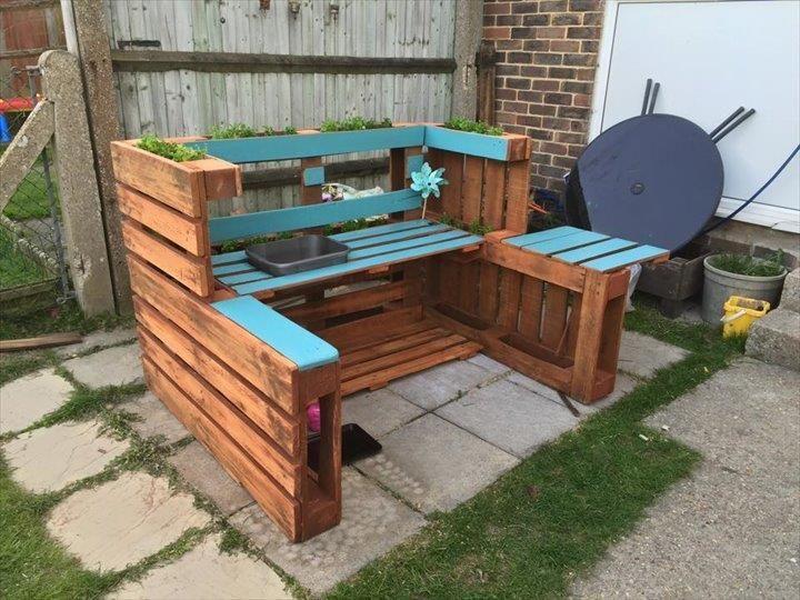 outdoor mud kitchen - Google Search | Pallet furniture ...