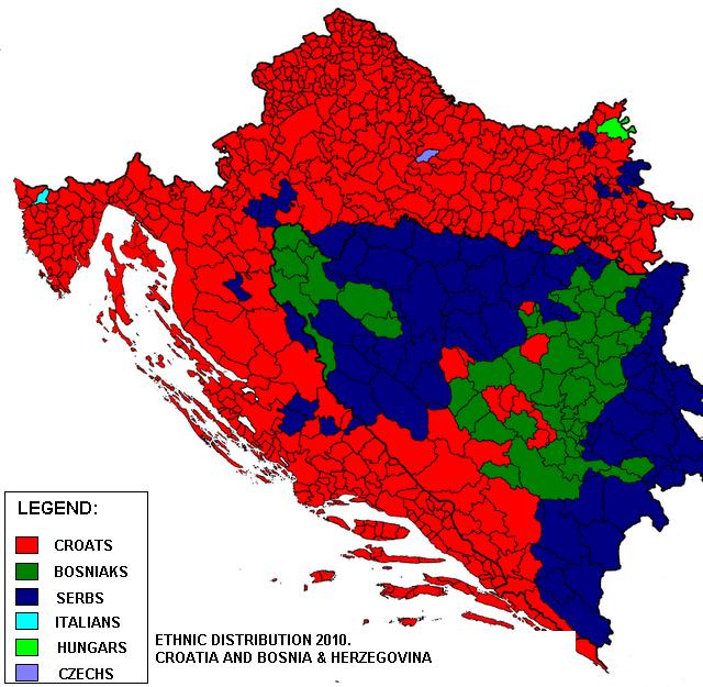 Bosnia and Herzegovina Historical maps, Map, History