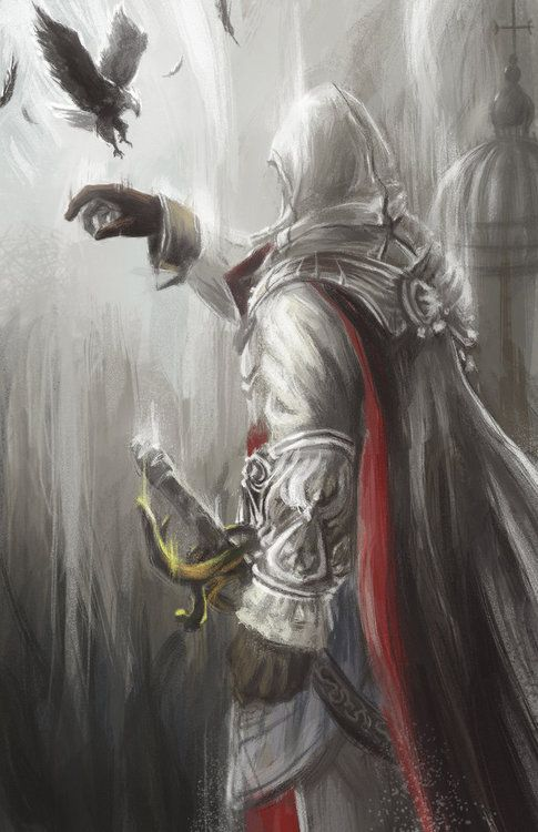 Ezio Auditore By Michael Wang Assassins Creed Game
