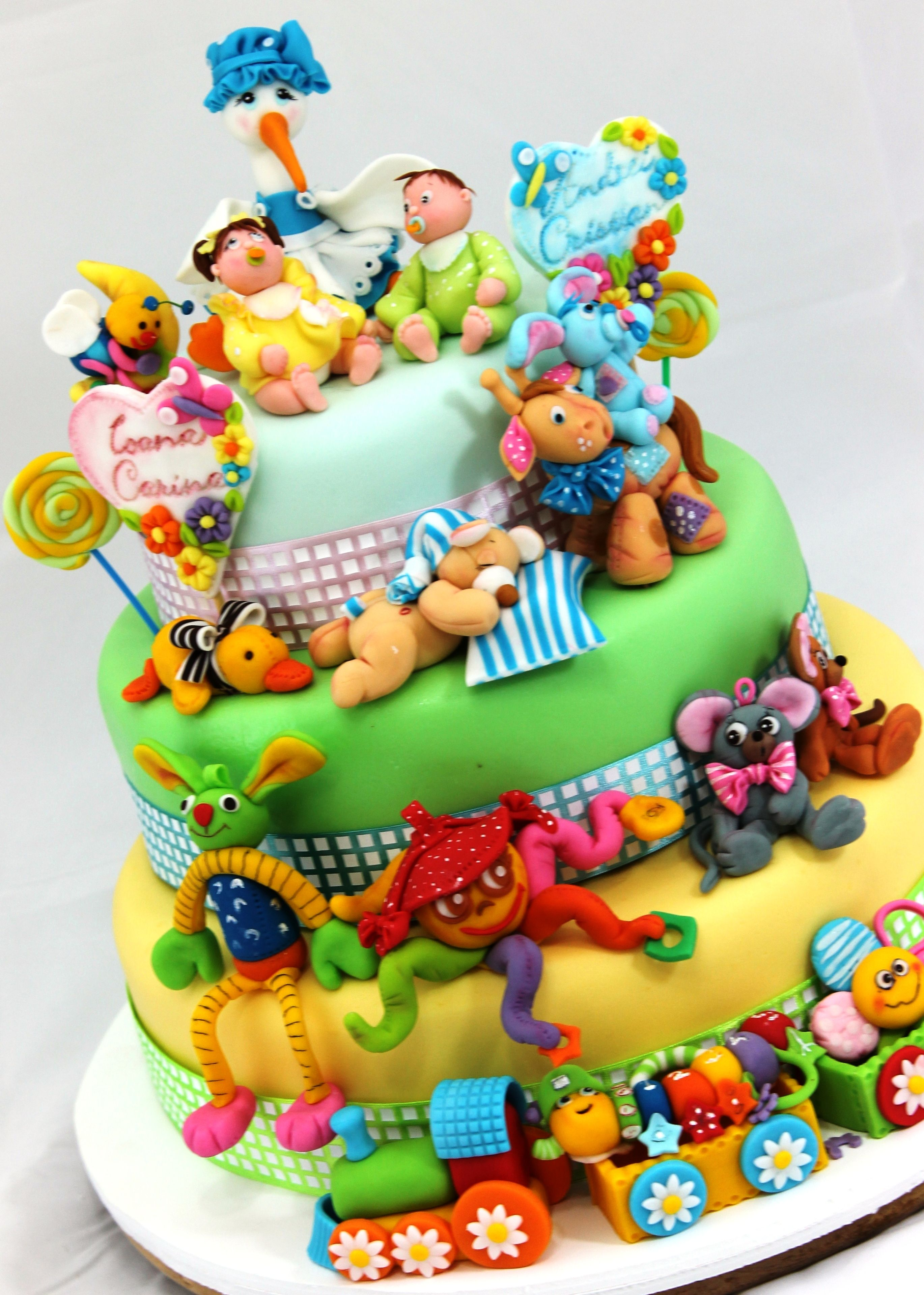 A Must See The Most Beautiful Cakes For Children From Viorica Toruri Www Viorica Torturi Ro Baby Birthday Cakes Amazing Cakes Cake
