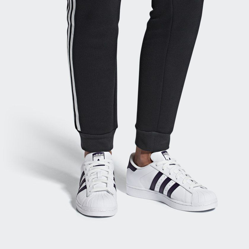 Reafirmar Ejército la seguridad  Tênis Superstar Ftwr White / Legend Purple / Core Black DB3346 | Sapatos de  estrelas, Adidas superstar, Calça adidas