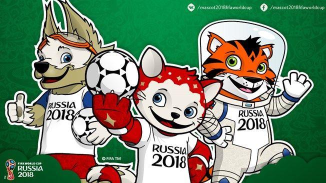 Mascota Oficial Mascot Fifa World Cup