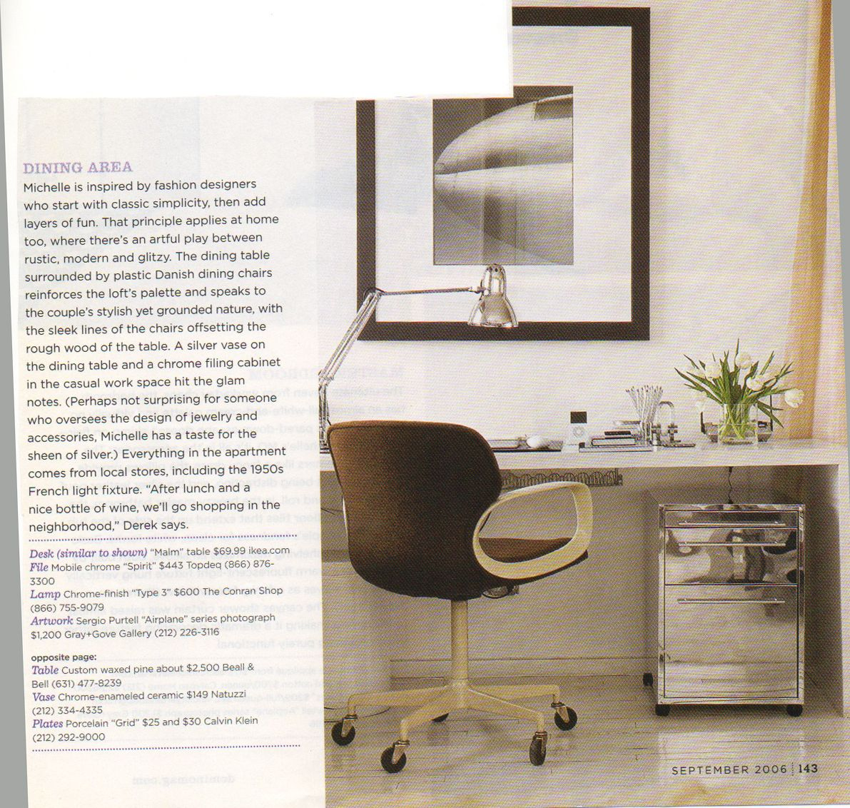topdeq office furniture. Topdeq Office Furniture. Ikea Malm Table, Chrome Filing Cabinet From Topdeq, Lamp Conran Furniture I