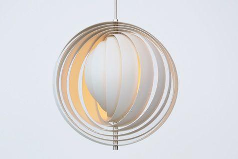 Moon Lamp By Verner Panton, Verner Panton Lamp Moon